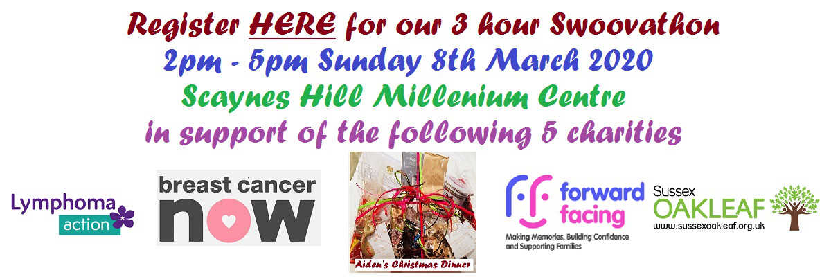 3 Hour Swoovathon – Sunday 8th March 2020